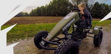 Pedal-Gokart Offroad Jeep
